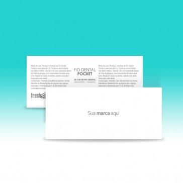 Fio Dental Pocket [ Frente e Verso ]