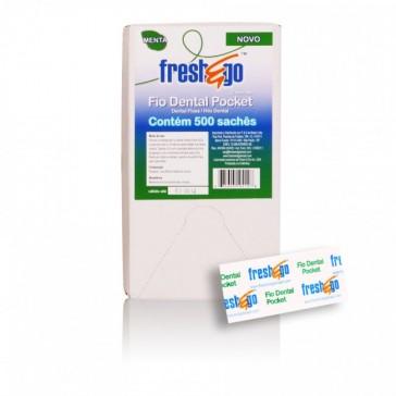 Fio Dental Pocket - 500 sachês